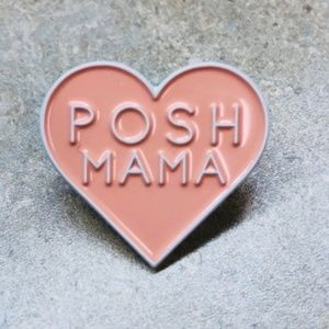 Posh Mama • Swag, Accessory, Lapel Pin, Brand New